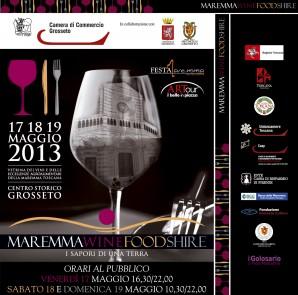 Locandina Maremma Wine Food Shire 2013