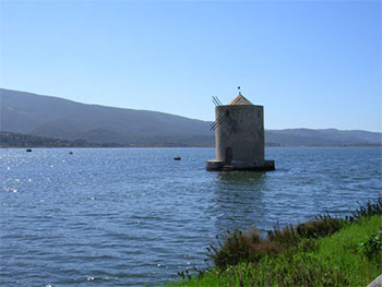 Orbetello the mill