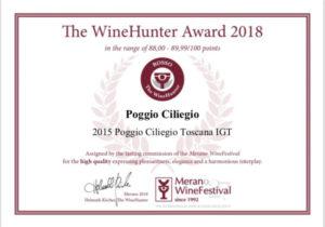 Poggio Ciliegio Merano Wine Festival 2018